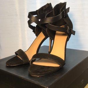 Joe's black heels